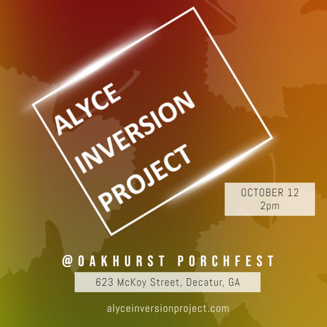 Oakhurst-Porchfest-Free-Live-Music-Alyce-Inversion-Project-2019
