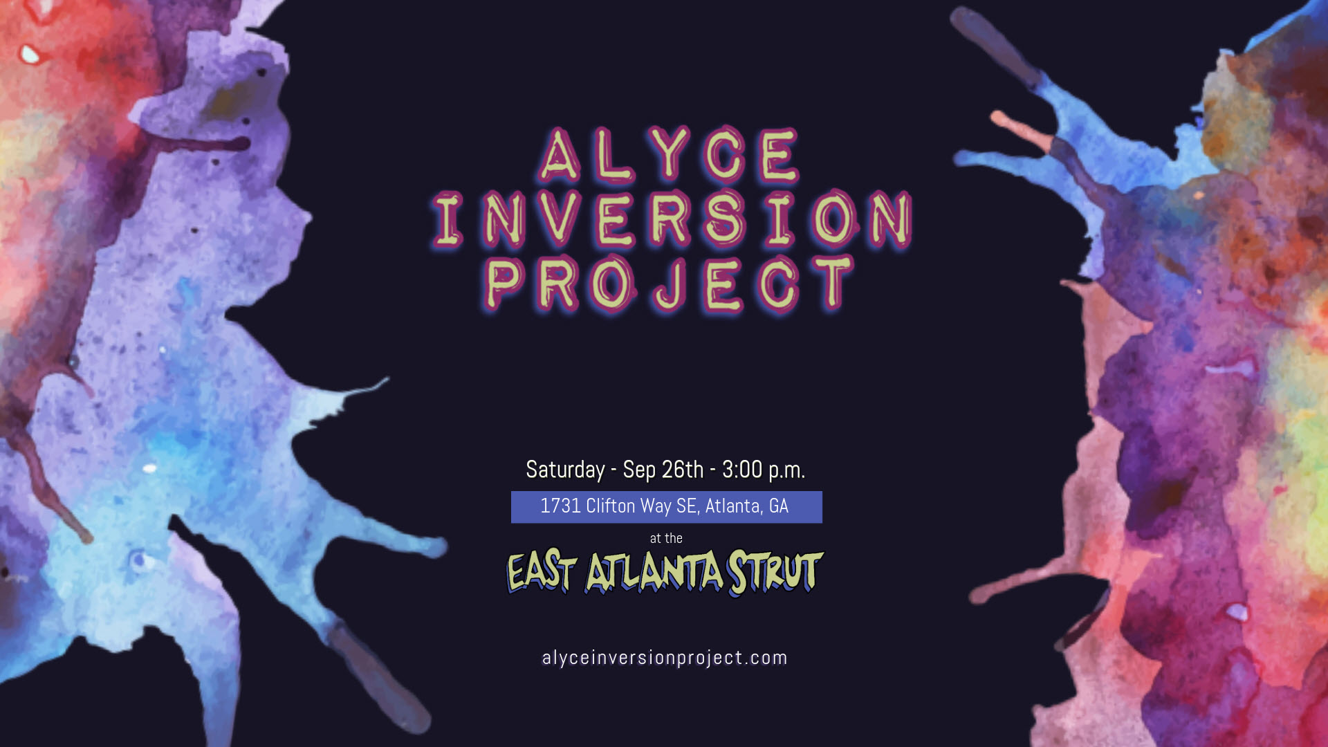 Alyce Inversion Project at the East Atlanta Strut Sep 26 2020
